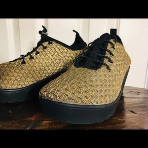 Steven by Steve Madden Woven Wedge Shoes